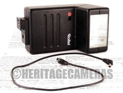 Rollei 134REB Classic Bounce Auto Manual Flash Unit for Hot Shoe with Synchro Cable and Instructions